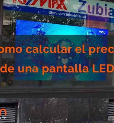 precio pantallas led