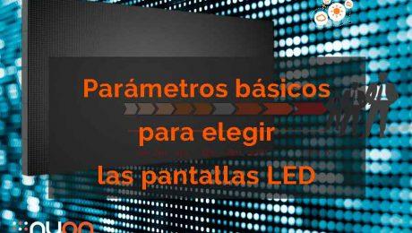parametros pantalla LED